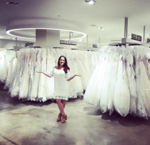 jenelle wedding dress shopping