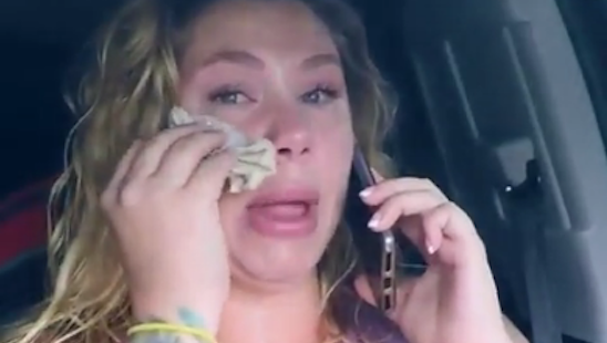 kailyn crying