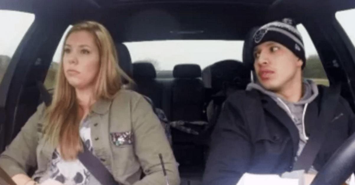 Javi and Kailyn in car screencap