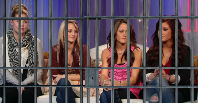'Teen Mom' Bride Behind Bars for Drugs!